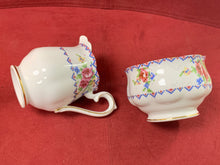 Load image into Gallery viewer, Royal Albert, Petit Point, Teapot, Cream and Sugar