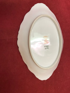 Limoges, Bridal Wreath, Oval Serving Dish