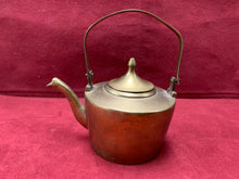 "Load image into Gallery viewer, England, Brass Kettle. Tradesman's Sample 2-1/2""D x 2"" H"