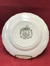 "Load image into Gallery viewer, Johnson Brothers, England. Tally Ho, Luncheon/Salad Plate, ""Stirrup Cup"" 8-7/8"""