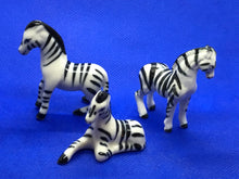 Load image into Gallery viewer, Japan, Set of 3 Zebra