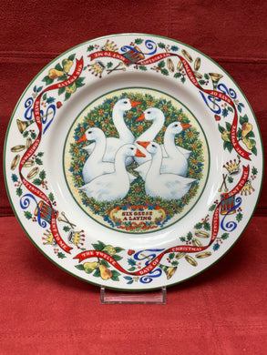 Royal Worcester, .  The 12 days of Christmas.  Plate #6