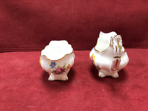 Hammersley, England, Creamer and Open Sugar Bowl. 4487