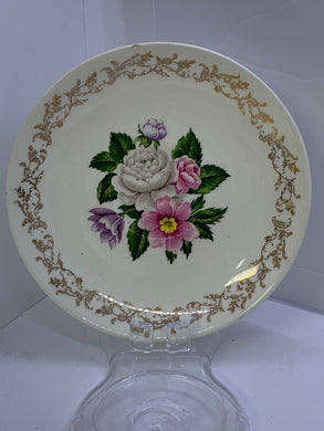British Empire Ware.  England.  Bouquet.  Saucers