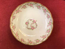Load image into Gallery viewer, Limoges, Bridal Wreath, 3 footed Serving Bowl, 8-3/4""
