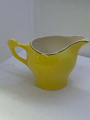 Serving Dishes.  Weatherby. England. Creamer.  Daffodil Yellow.