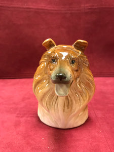 Creamer, Occupied Japan, Collie Dog Bust