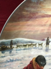 "Load image into Gallery viewer, Collectors Plate.  ""The Hunter's Reward"",   by Nori Peter.  10"""