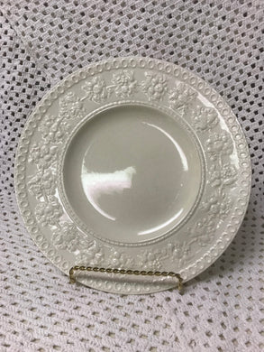 Wedgwood, Wellesley, Dinner Plate, off white, cream ware