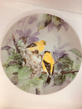 "Load image into Gallery viewer, Collector Plate- Lena Liu- . Nature's Poetry Series-#9"" ""Lyrical Beginnings"". 8-1/2"""