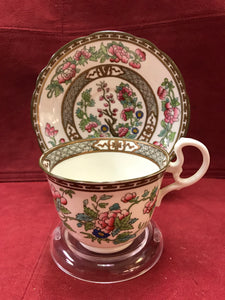 Aynsley. England. Indian Tree, Cup and Saucer