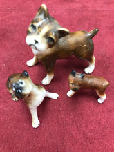 Load image into Gallery viewer, Japan. Porcelain. Miniature Figurine. Boxer-set of three
