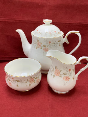 Royal Albert. For All Seasons-Autumn Sunlight.  3 Pc Tea Service