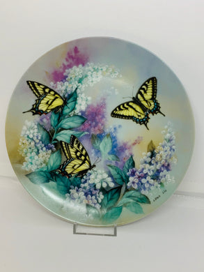 Collector Plate- Lena Liu- On Gossamer Wings-  # 2.  Butterflies