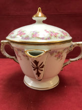 Load image into Gallery viewer, Limoges, LRL, Bridal Rose, 2 Spouted Gravy Seperator, with lid