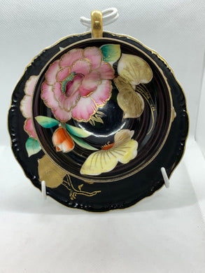 Occupied Japan, Trimount China, Cup and Saucer, Lotus Blossom and Butterfly
