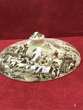 "Load image into Gallery viewer, Johnson Brothers, England. Tally Ho, Lid for Covered Vegetable Dish, ""The Meet"" 7-3/4"