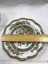 Load image into Gallery viewer, Indian Tree, Multicoloured, 2 Cereal Bowls, Antique
