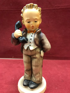 "Goebel, Hummel. Figurine. Hello #124. 6"" High"