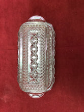 Load image into Gallery viewer, Butterdish, Glass Butter Dish, Rectangle, 1/4 lb capacity, Vintage