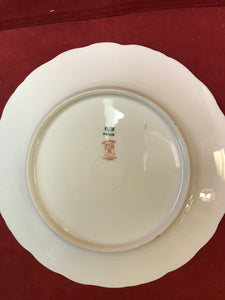 "Limoges, Elite Works.  ""Bridal Wreath"".  Dinner Plates"
