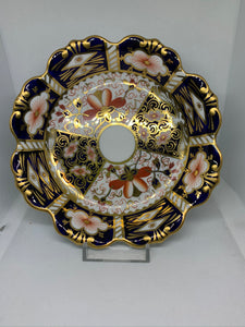 Royal Crown Derby. England.  Scalloped Dish.  Imari Pattern.