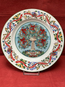 Royal Worcester, The 12 days of Christmas.  Plate #5