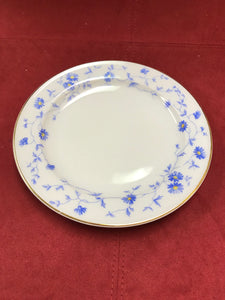 Front of Plate.  Bayern, Arzberg, Germany, Breakfast trio, Blue and White. (3pc)
