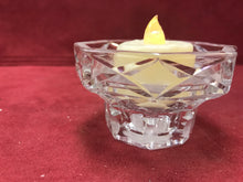 Load image into Gallery viewer, Candle Holder, Crystal, France, 2""
