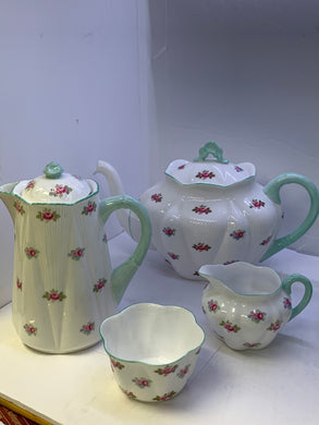 "Shelley. England. Tea Service. ""Rosebud"". (6pc)"