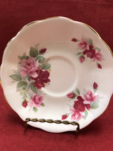 Load image into Gallery viewer, Royal Albert, England. Cup and Saucer. Pink Roses