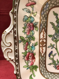 Coalport, Indian Tree, Multicoloured, Cake Plate, Antique