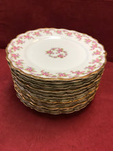 "Load image into Gallery viewer, Limoges, Elite Works.  ""Bridal Wreath"".    Side Plates/Dessert Plates"
