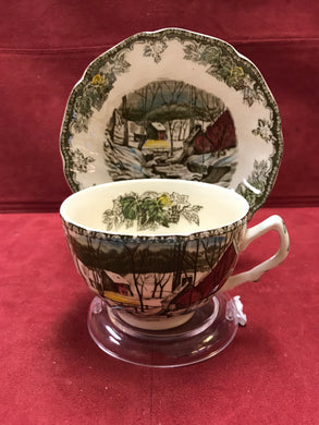 Johnson Bros. England ,Friendly Village, Dinnerware, Cups and Saucers