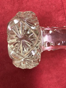 Vintage, Cut Crystal, Master Knife Rest, Pair