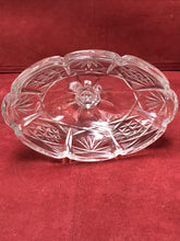 Load image into Gallery viewer, Crystal , Covered Dish, Four footed, Vintage