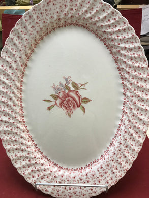 Johnson Bros, Rose Bouquet, Vintage,Platter