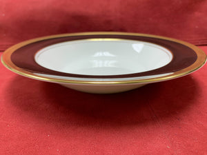 Coalport. England. Athlone-Brown & Gold. Soup Bowl. 8""