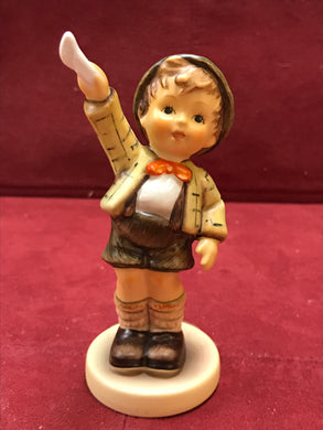 "Goebel. Hummel. Figurine. Come Back Soon, #545. 4-1/4"" High"