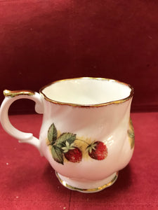 Mug, Queen's Fine China, Antique Fruit , Bone China (set of 2)