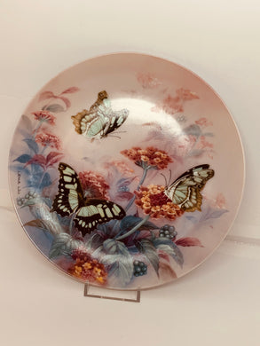 Collector Plate- Lena Liu- On Gossamer Wings-  # 4.  Butterflies