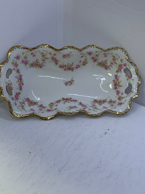 MZ. ALTROHLAU, Czechoslovakia. Small Rectangle Dish. 8