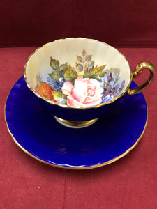 Aynsley, Cobalt with Roses, 1033