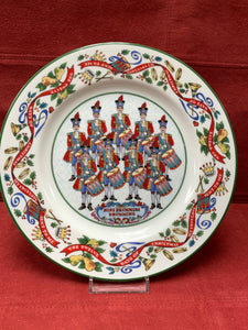 Royal Worcester, .  The 12 days of Christmas.  Plate #9