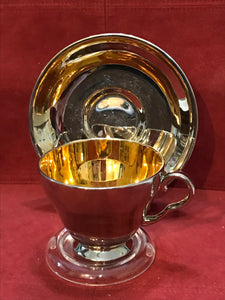 Royal Winton,  Silver/gold. Cup and Saucer