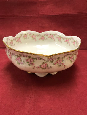 Limoges, Bridal Wreath, Serving Bowl
