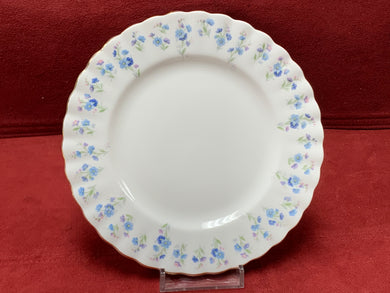 Royal Albert, Memory Lane, Bread and Butter Plates,   Forget-Me-Nots