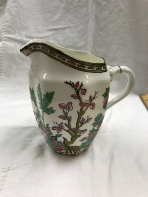 "Coalport, Indian Tree, Multicoloured, 5"" Milk Pitcher, Antique"
