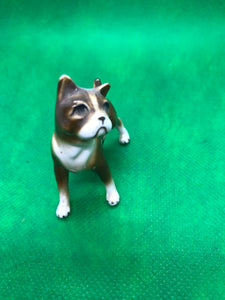 Japan. Porcelain. Miniature Figurine. Boxer-set of three