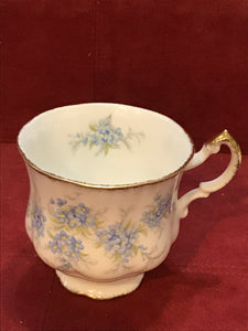 Paragon, England. Cup and Saucer. Remember Me